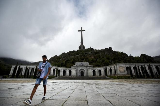 Fotografía del Valle de los Caídos.