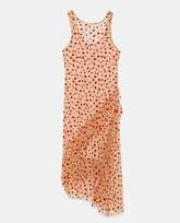 Vestido sin mangas semitransparente (19,95 euros).