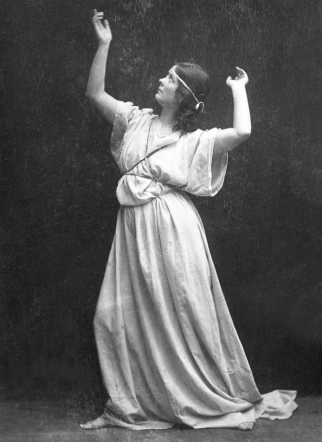 Isadora Duncan, en 1904.