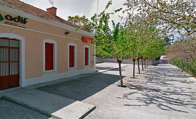 Estación de tren de Navajas