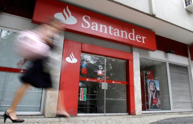 El Banco Santander gana 2.054 millones hasta marzo, el 10% más