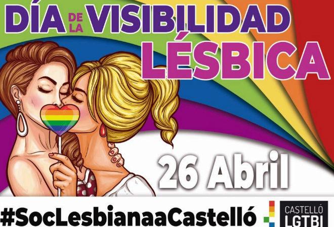 Cartel anunciador de la jornada en Castellón.