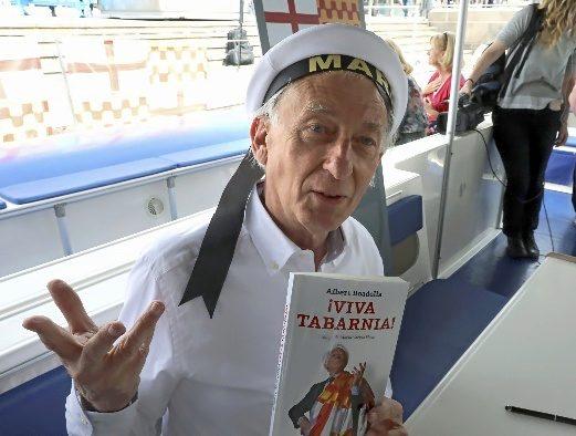 Albert Boadella en Sant Jordi.