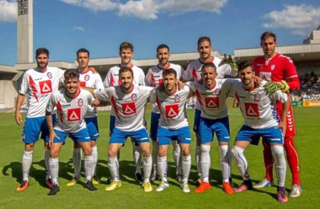 Imagen del Rayo Majadahonda, primer clasificado del primer grupo de Segunda División B.