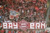 Aficionados del Bayern de Múnich durante su último encuentro de...