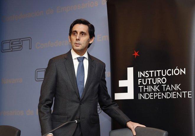 El presidente ejecutivo de Telefónica, José María Álvarez Pallete