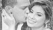 Al capitán Adrián Velásquez (38 años) y a su mujer Claudia Díaz...