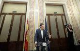 El presidente de Ciudadanos, Albert Rivera, en el Congreso
