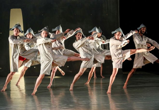 Inbal Pinto & Avshalom Pollack Dance, que estrenan 'Wrapped'.