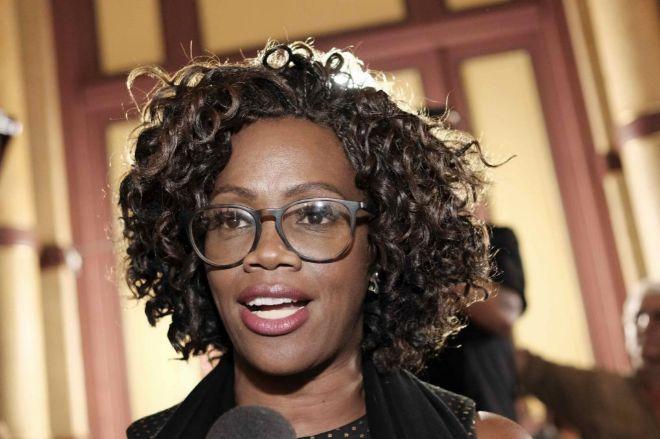 La vicepresidenta electa, Epsy Campbell.