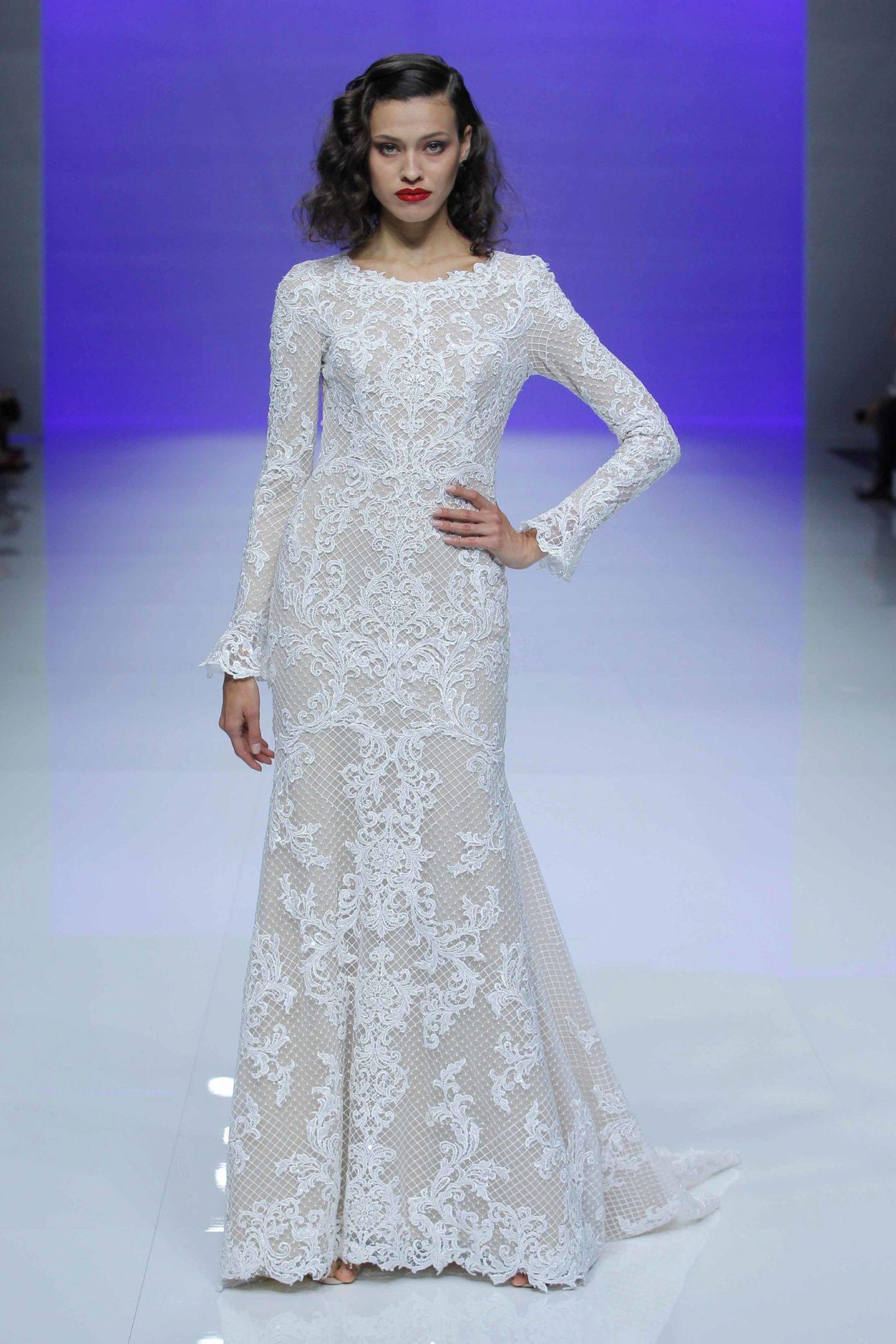 Magnífico Vestido De Novia De Estilo Años Cincuenta Ideas Ornamento ...