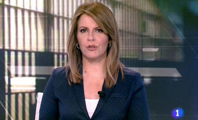 Pilar G. Muñiz, presentadora de la edición de mediodía del...