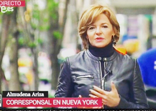 Almudena Ariza, corresponsal en Nueva York de TVE.