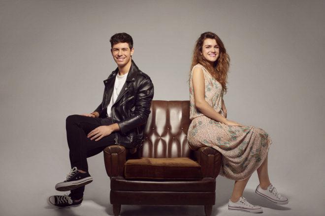 Alfred y Amaia, en una imagen promocional de 'Tu canción'.