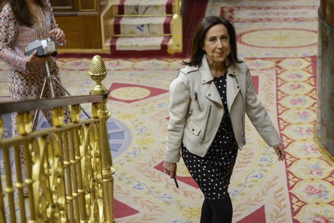 Margarita Robles, portavoz del PSOE en el Congreso de los Diputados.