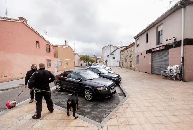 La calle de Burgos donde fue asesinada la mujer a manos de su ex...