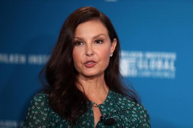Ashley Judd, ayer en la XXI Conferencia Global del Milken Institute en Beverly Hills.