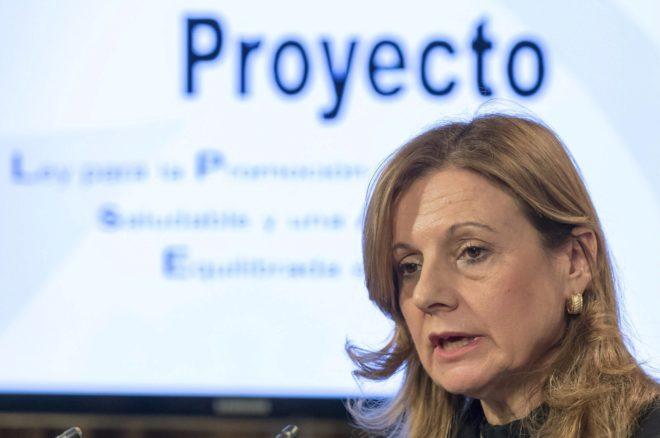 La consejera andaluza de Salud, Marina Álvarez.