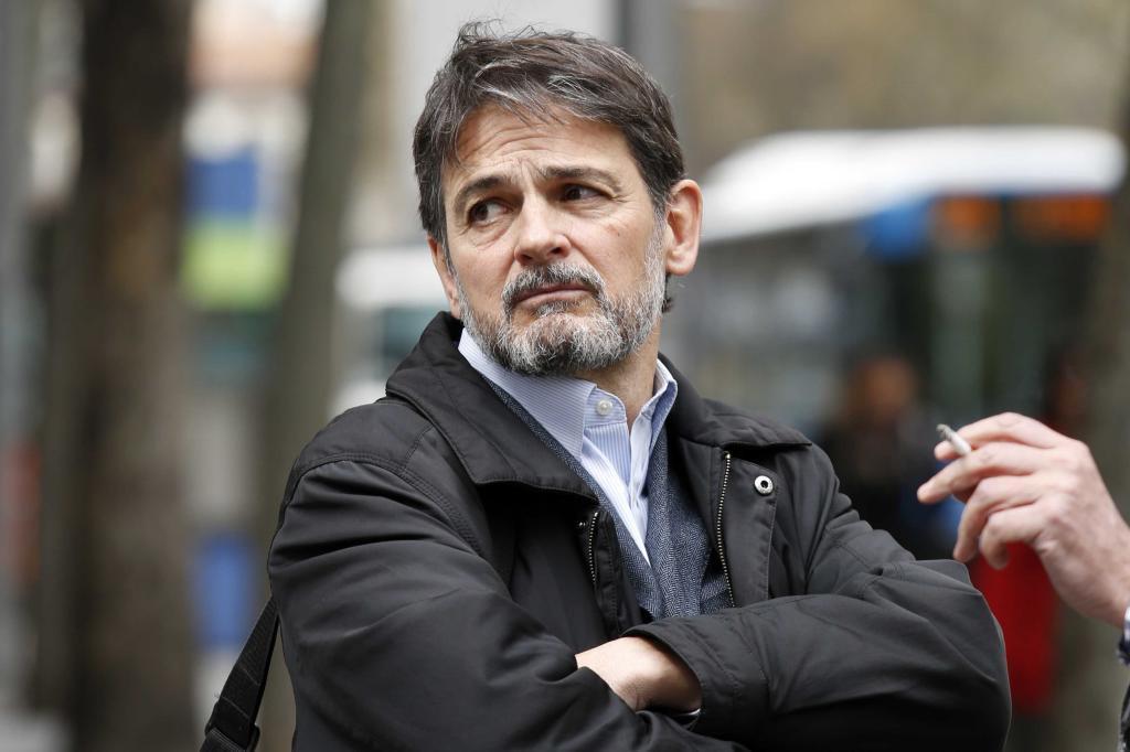 Comunidad de Madrid Oriol Pujol saliendo de la Audiencia Nacional