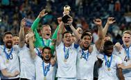 Alemania levanta la última Copa Confederaciones, en San Petersburgo.