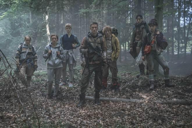 Una imagen del grupo de protagonistas de la serie danesa 'The Rain'.