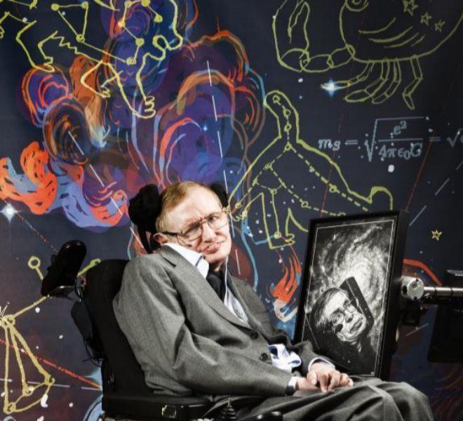 Stephen Hawking posa en una sesión de fotografía para EL MUNDO.