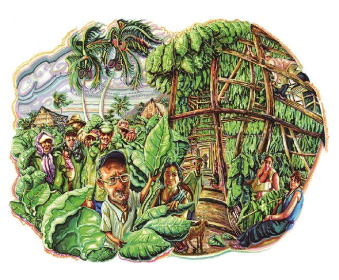 Cuba, luminosa y feliz en 70 ilustraciones