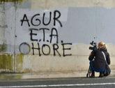 Pintada a favor de ETA en la localidad de Salvatierra (Álava).