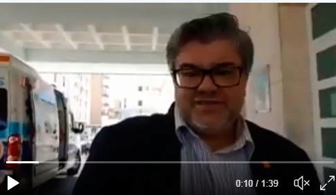 Imagen del vídeo compartido por Pedro Mejías en sus redes sociales.
