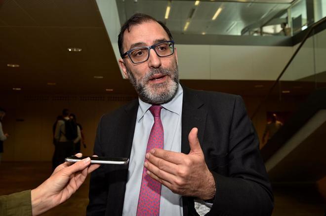 El magistrado Eloy Velasco, en unas jornadas celebradas el día 20 en Palma.
