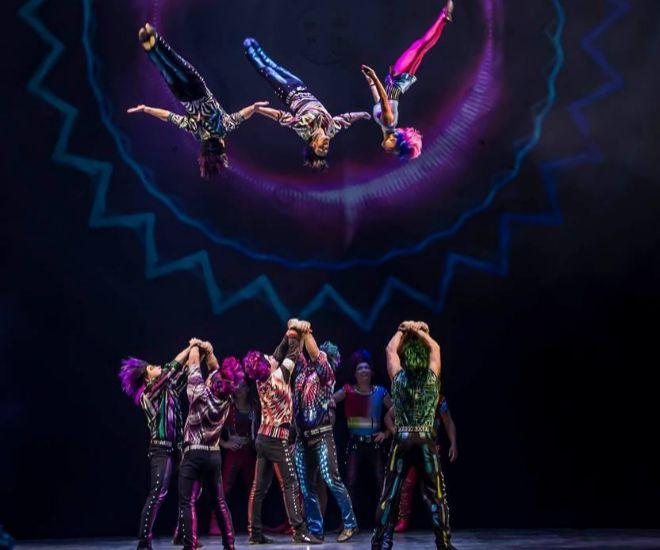 Imágenes de 'Sép7imo día: no descansaré' de Cirque du Soleil, un espacio de reencuentro para los fans de Soda Stereo