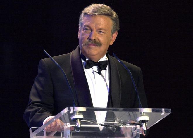 El periodista José María Íñigo, en una imagen de 2003.