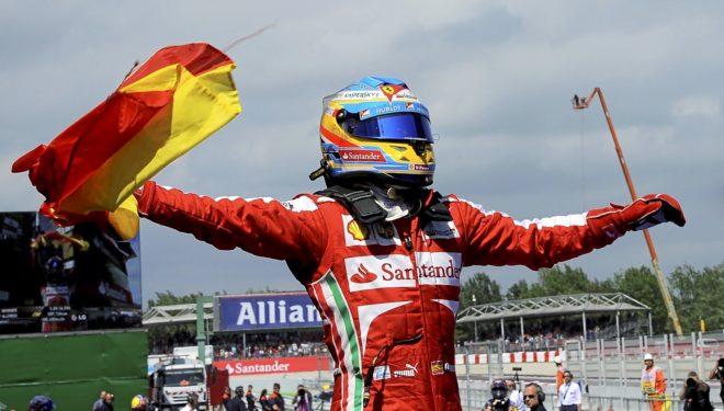 FÓRMULA 1: Cuando Fernando Alonso paseaba la bandera de España en ...