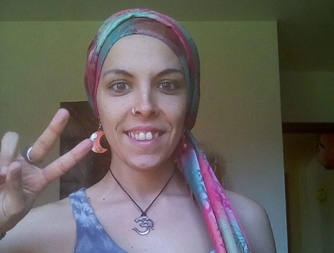 Silvia Turnes lleva siete meses de lucha contra el cáncer