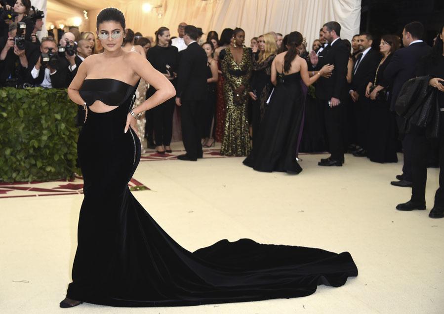 0f6b3f7eaf Gala MET 2018 - Alfombra roja - Kylie Jenner