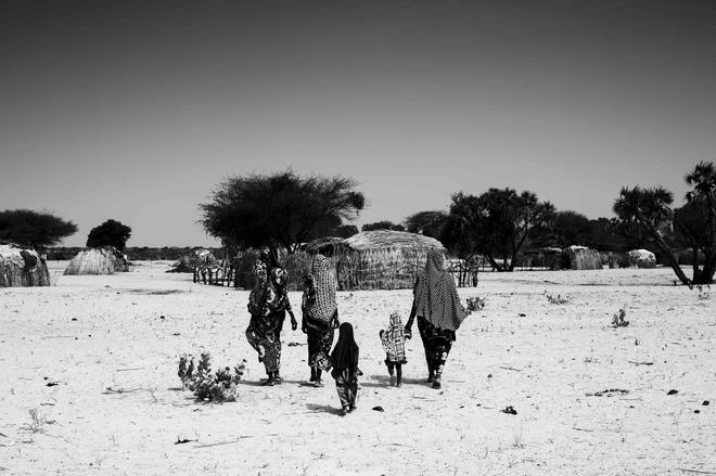 Víctimas de Boko Haram en el Lago Chad.