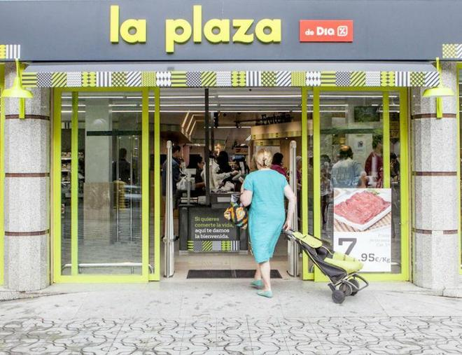 Una tienda de La Plaza del grupo Dia.