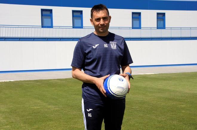 El entrenador del Leganés, Asier Garitano, en una imagen de esta temporada