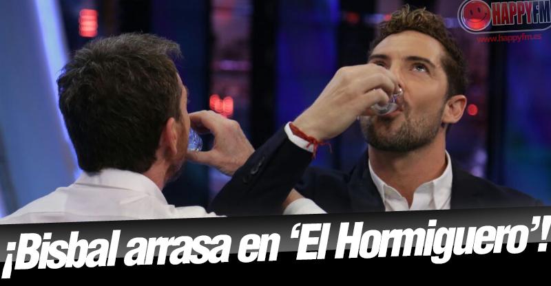Chupitos y mentiras: así fue la décima visita de David Bisbal a 'El Hormiguero'
