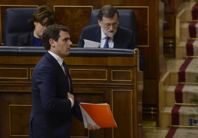 Albert Rivera rompe con Rajoy por no aplicar la Constitución