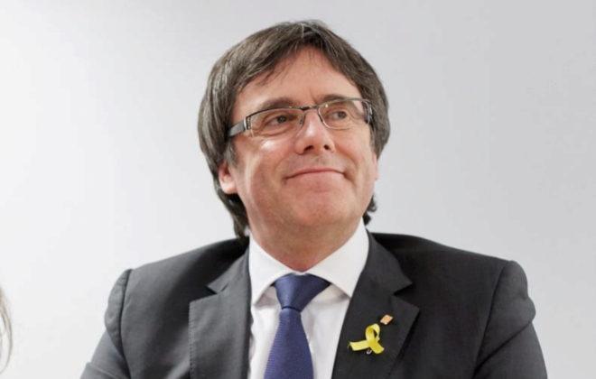 El ex presidente de la Generalitat, Carles Puigdemont
