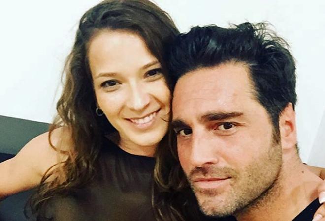 David Bustamante y Yana Olina, en su primera imagen como pareja.