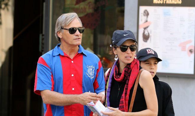 Viggo Mortensen y Ariadna Gil, hace unos meses en Nueva York.
