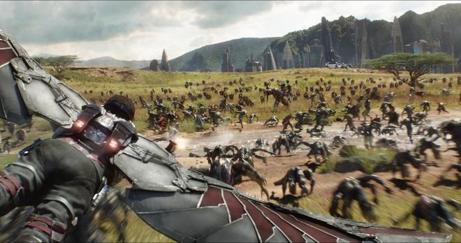 Un fotograma de 'Infinity war', la película más vista de la semana.