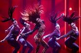 Eleni Foureira interpreta Fuego en Eurovisión 2018