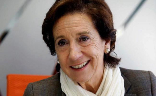 La periodista Victoria Prego.