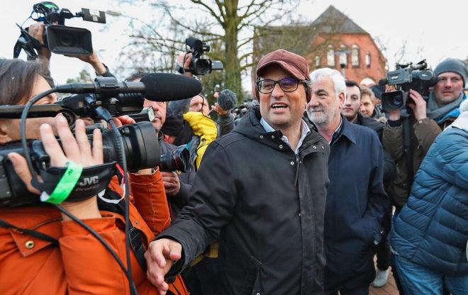 El candidato a la presidencia de la Generalitat, Quim Torra