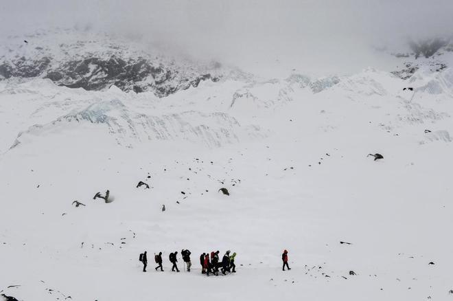 Imagen de archivo de una subida al Everest.