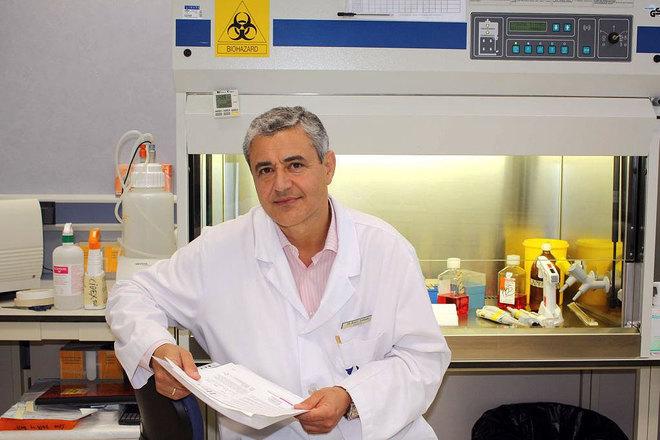 Profesor en la Facultad de Medicina de Málaga, Raúl Andrade Bellido