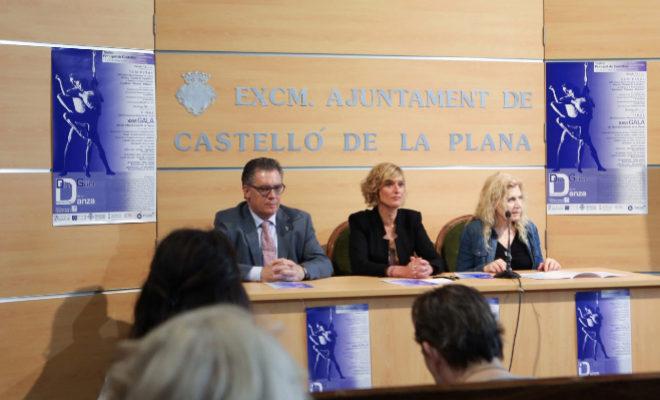 José Vicente Ramón, Verònica Ruiz y Gabriela Foschi, ayer, durante la presentación.